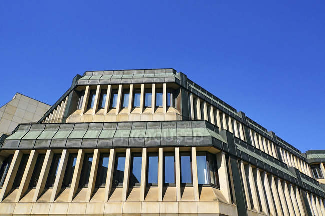 Deutschland, historischen Haus in Minden mit blauen Himmel im Hintergrund — Stockfoto
