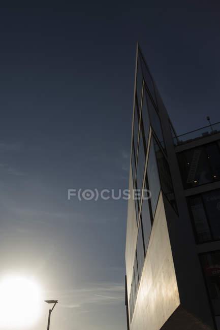 Німеччина, перегляд сучасного центру міста Ульм — стокове фото