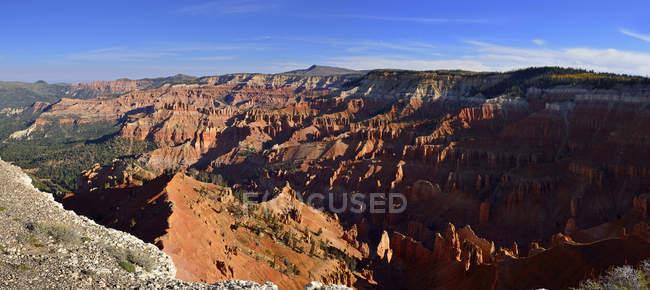 USA, Utah, Ansicht von Cedar Breaks National Monument tagsüber — Stockfoto