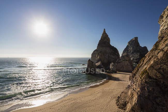 Portugal, vista da Praia da Ursa — Fotografia de Stock