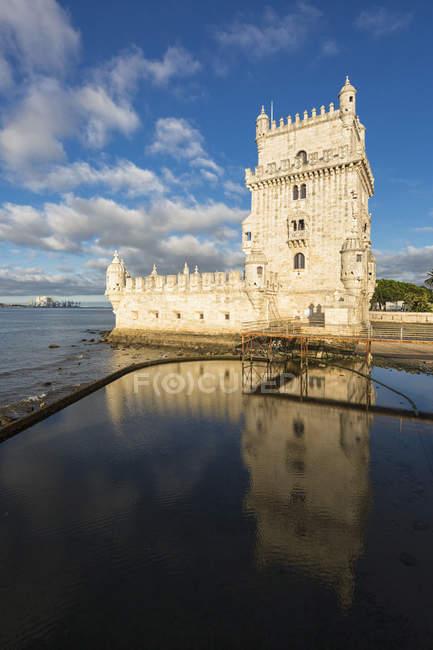 Vista da Torre de Belém — Fotografia de Stock