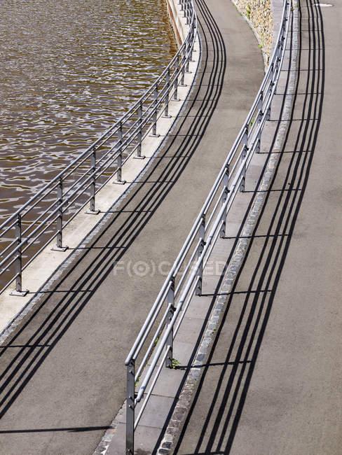 Germany, Bingen, View of pedestrian walkway — Stock Photo