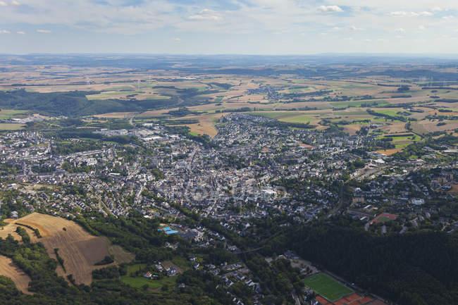 Europe, Germany, Rhineland Palatinate, View of town Mayen — Stock Photo