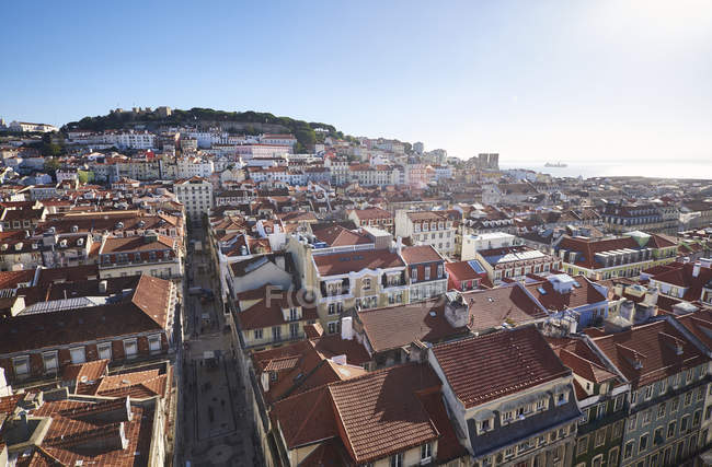 Portugal, Lisbon, cityscape of at daytime — Stock Photo
