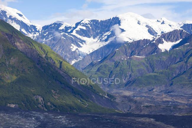 США, Аляска, гори, святі Еліас і Юкон — стокове фото