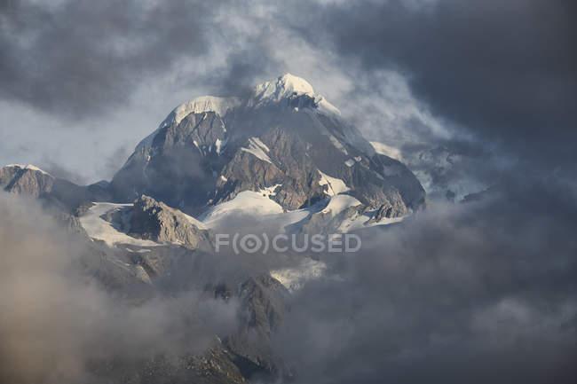 Нова Зеландія, Південний острів, Національний парк Вестленд, Гора Тасман — стокове фото