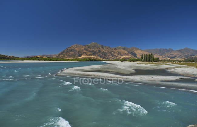Nuova zelandia, Isola del Sud, Lago Wanaka — Foto stock