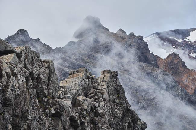 Нова Зеландія, Північний острів, Тонгаріро Національний парк, вулканічний ландшафт — стокове фото