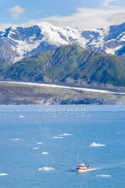 Etats-Unis, Alaska, St. Elias Mountains, Hubbard Glacier — Photo de stock