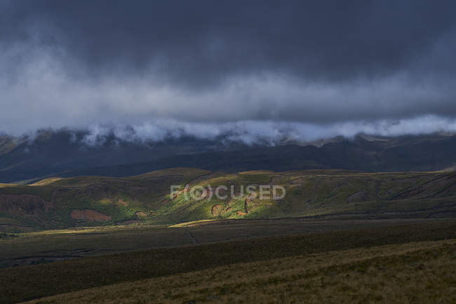 New Zealand, North Island, Tongariro National Park, volcanic landscape — Stock Photo