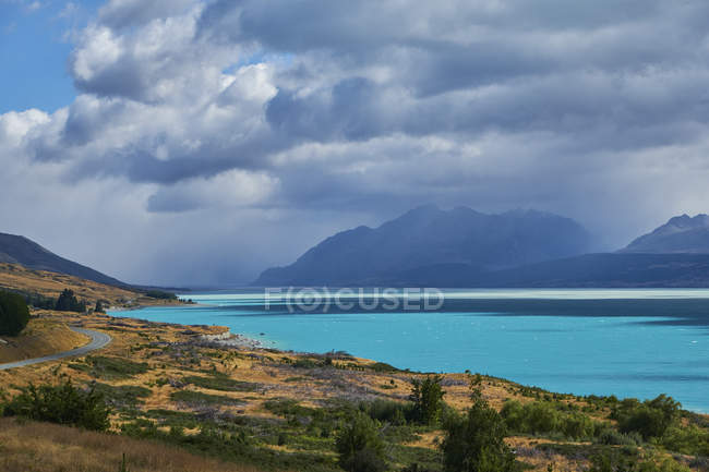 Nuova zelandia, Isola del Sud, Lago Pukaiki — Foto stock
