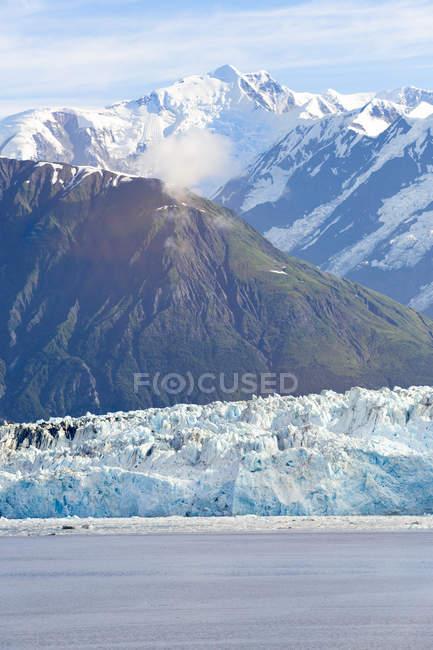 США, Аляска, святі Іллі гори, льодовик Хаббард — стокове фото