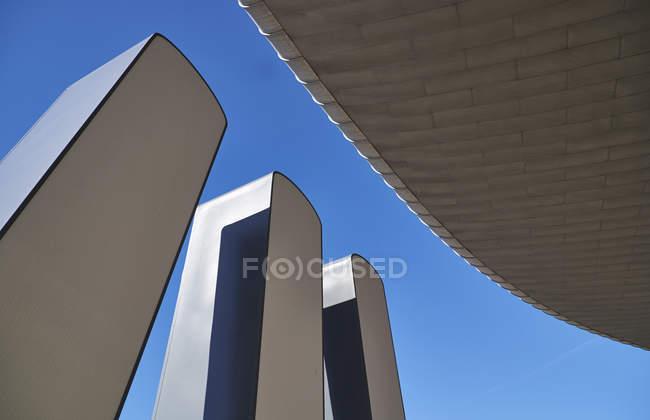Portogallo, Lisbona, Parque das Nacoes, architettura moderna — Foto stock