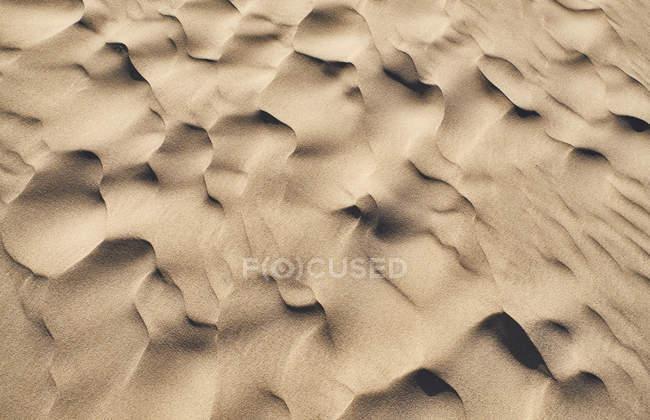 Italie, Sardaigne, Porto Pino, dune, sable, ondulations — Photo de stock