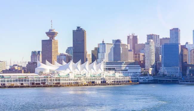 Canada, British Columbia, Vancouver, Convention Center e Canada Place — Foto stock