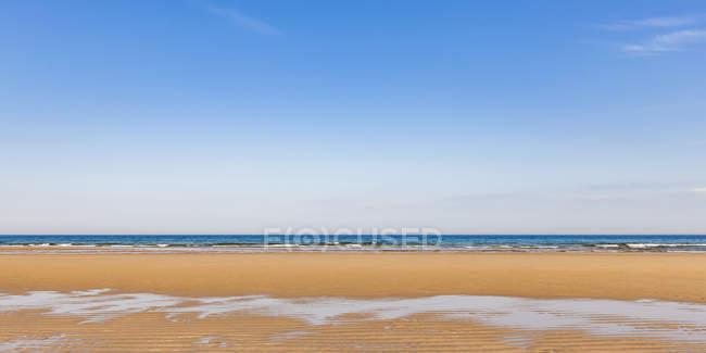Royaume-Uni, Écosse, Côte Est, Brora, Mer du Nord, plage — Photo de stock