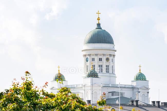 Finland, Helsinki, Helsinki Cathedral  at daytime — Stock Photo
