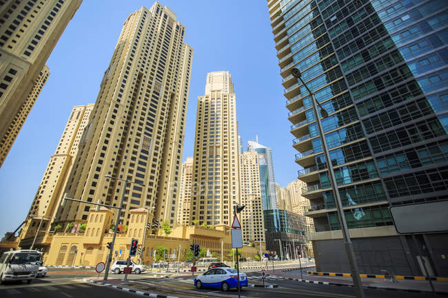 United Arab Emirates, Dubai, Cityscape  at daytime — стоковое фото