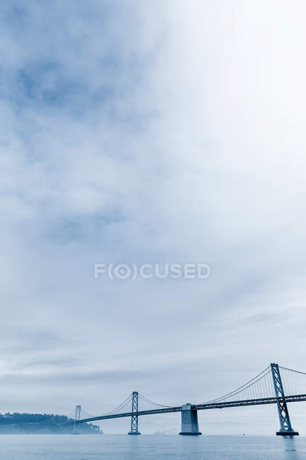 USA, Kalifornien, San Francisco, Oakland Bay Bridge — Stockfoto
