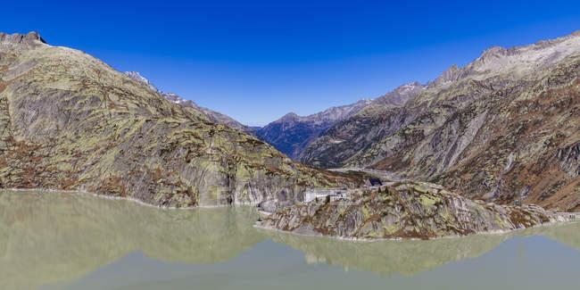 Schweiz, Wallis, Alpen, Berner Oberland, Grimselsee — Stockfoto