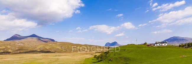 United Kingdom, West Coast, Highland, Ephin, farmhouse — стокове фото