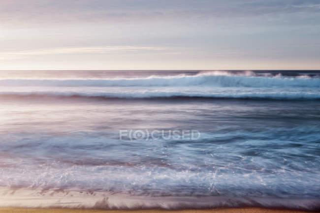 USA, California, Pismo Beach at teh sunset — Stock Photo