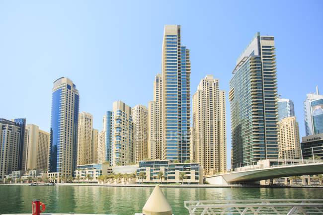 United Arab Emirates, Dubai, Dubai Marina at daytime — стоковое фото