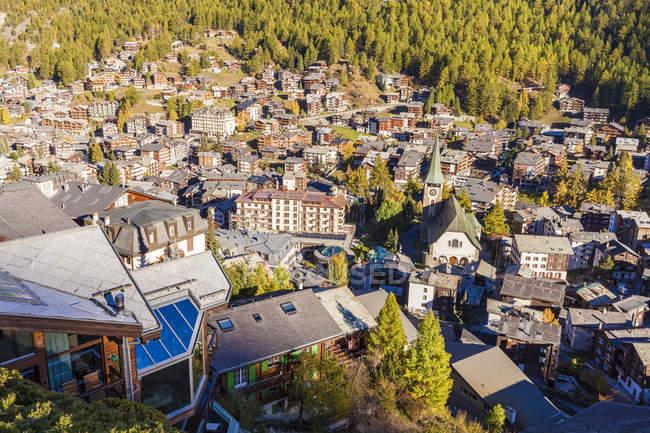 Switzerland, Valais, Zermatt, townscape — Stock Photo