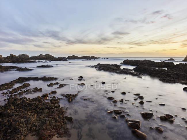 África do Sul, Western Cape, Knysna, Buffalo Bay à noite — Fotografia de Stock