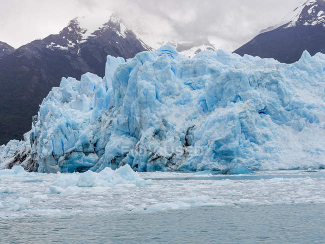 Argentina, El Calafate, regione Patagonia, ghiacciaio Perito Moreno — Foto stock