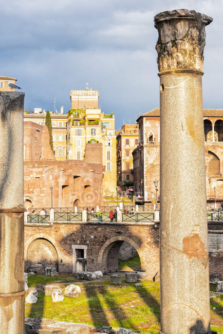 Italy, Rome, Imperial Forums — Stock Photo