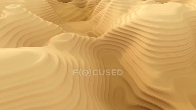 Patrón de cañón abstracto, renderizado 3d - foto de stock