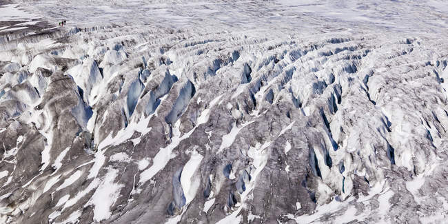 Switzerland, Valais, Alps, Rhone glacier — Stock Photo