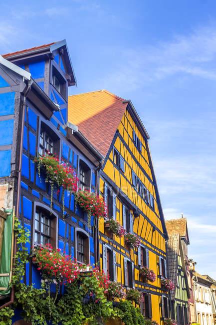 France, Elsace, Riquewihr old town — стоковое фото