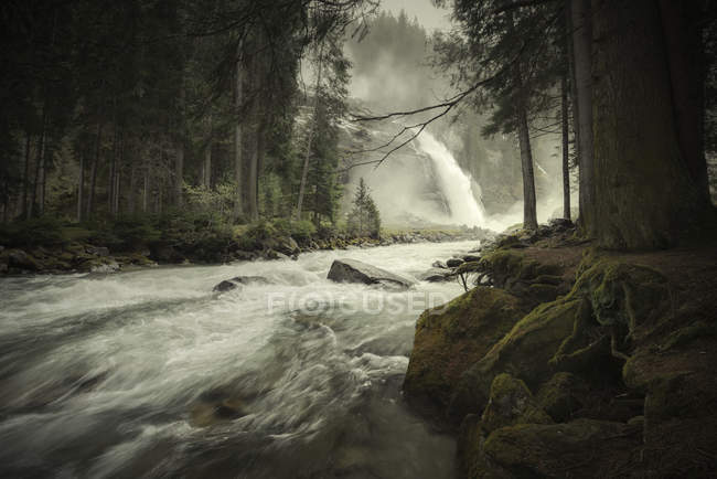 Austria, High Tauern National Park, Krimml waterfalls — Stock Photo