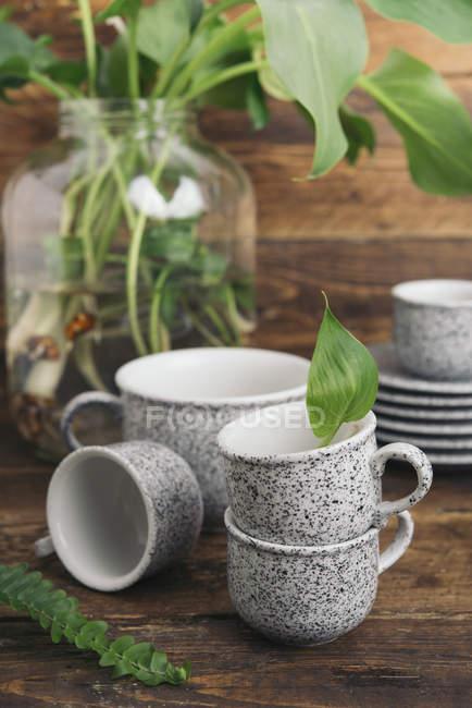 Кофе в гранитном стиле — стоковое фото