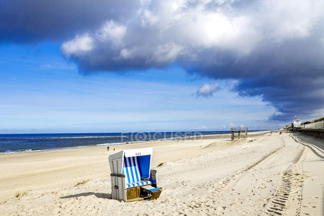 Germany, Schleswig-Holstein, Sylt, Kampen, beach — Stock Photo