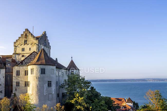 Germany, Baden-Wuerttemberg, Lake Constance, Meersburg, Meersburg Castle — Photo de stock