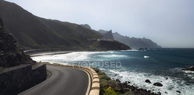 Spanien, Kanarische Inseln, Teneriffa, Strand Roque de las Bodegas — Stockfoto