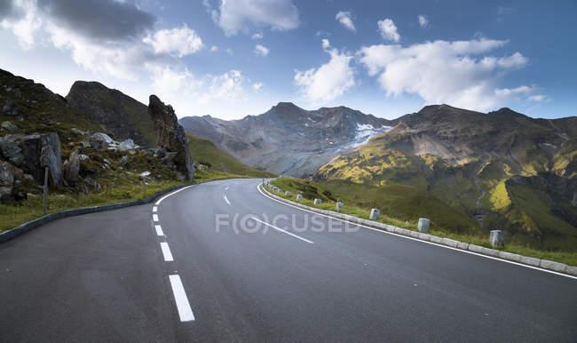 Австрія, Зальцбург держава, Гроссглокнер високий Альпійська дорога, Fuscherkarkopf — стокове фото