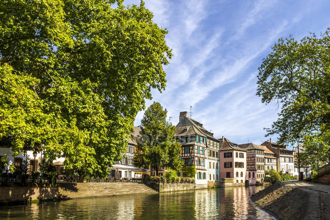 France, Alsace, Strasbourg, Old town at daytime — Foto stock