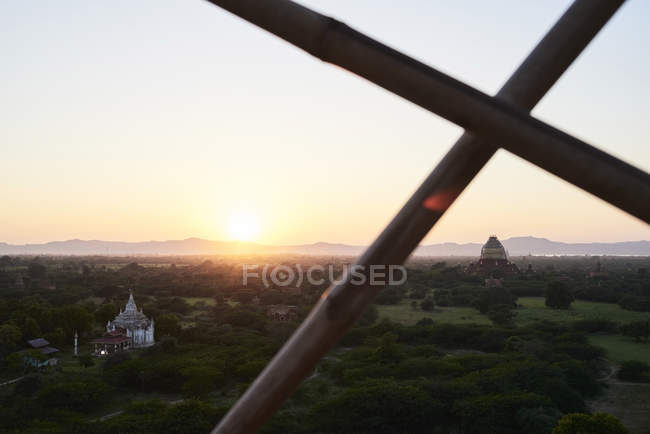 Myanmar, archaelogical site of Bagan — Stock Photo