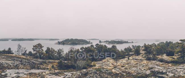 Svezia, Sodermanland, arcipelago paesaggio — Foto stock