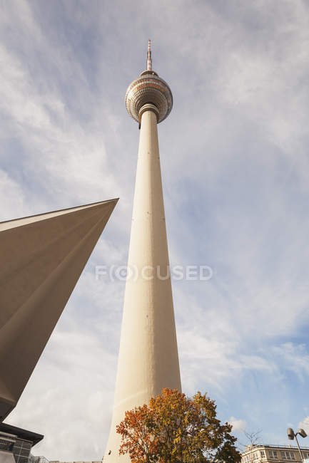 Germany, Berlin, low angle view of television tower — Stock Photo
