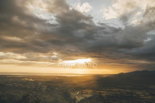 Cuba, Trinidad, Sunset clouds — Stock Photo