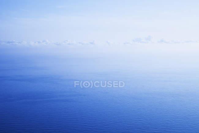 Italien, Ligurien, Mittelmeer, Meerblick — Stockfoto