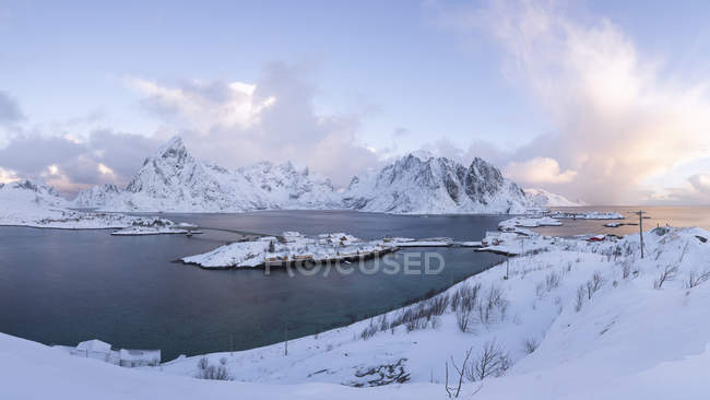 Norvège, Lofoten, Hamnoy, Reine — Photo de stock