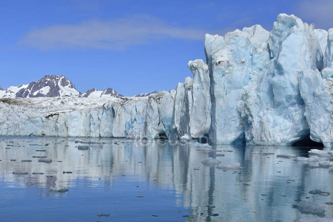 Greenland, East Greenland, Knud Rasmussen Glacier — Stock Photo