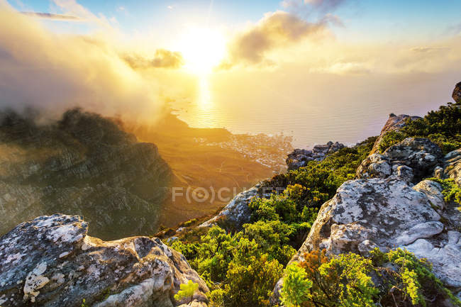 Africa, South Africa, Western Cape, Cape Town, Table Mountain — Stock Photo