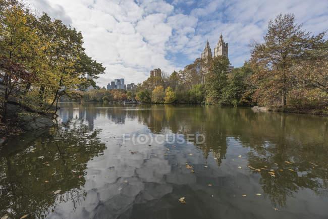 EUA, Nova Iorque, Manhattan, Central Park — Fotografia de Stock